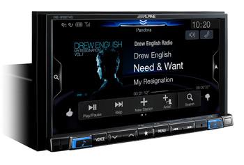 Alpine Bundle- 7-Inch Nav Receiver with iDatalink KIT-C200 2015-17 Chrysler 200 Installation Kit