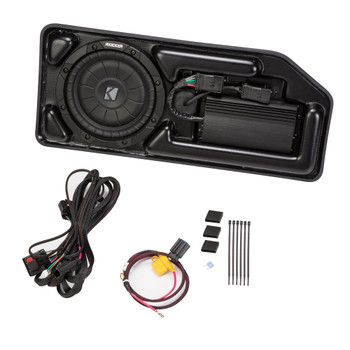 Kicker Powered Subwoofer Upgrade Kit for 2015-2019 Chevrolet Colorado/GMC Canyon Crew Cab