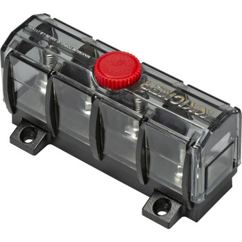 Kicker 47KMFDB3 ABYC Compliant Fuse Holder And Distribution Block