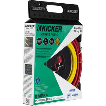 Kicker 47KMPK4 Marine 4awg Amp Power Kit