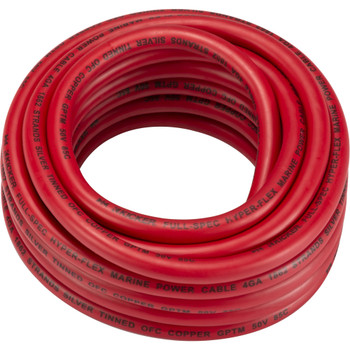 Kicker 47KMWPR420 Marine 4awg Power Wire, 20ft, Red