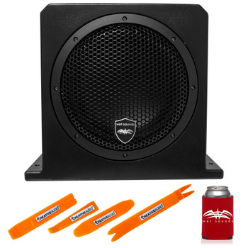 Wet Sounds Stealth AS-10 500 watts Active Subwoofer Enclosure With Creative Audio Panel Tool Kit
