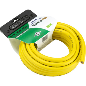Kicker 47KMWPY420 Marine 4awg Power Wire, 20ft, Yellow