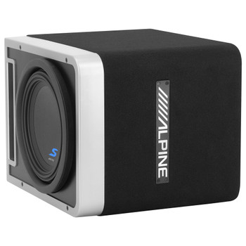 Alpine S-SB10V Pre-Loaded S-Series 10-inch Subwoofer Enclosure