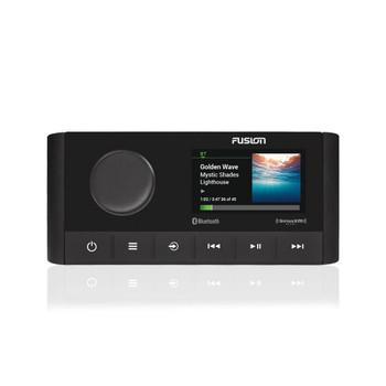 Fusion MS-RA210 Marine Entertainment System with (2) ARX70B Black Wireless Remotes