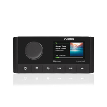 Fusion MS-RA210 Marine Entertainment System with ARX70B Black Wireless Remote