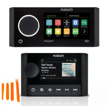 Fusion MS-RA770 Apollo Marine Entertainment System with MS-ERX400 Ethernet Wired Remote