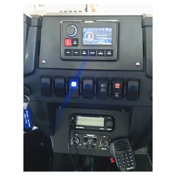 NavAtlas DK30RZR 2016-2020 Polaris RZR Turbo Lower Glove Box Mount For The NA30C