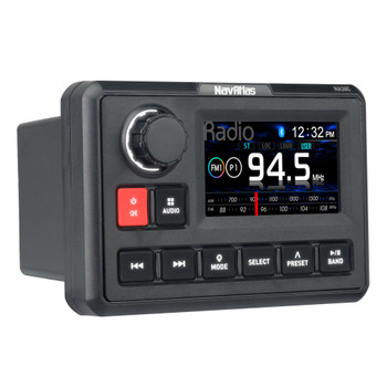 """NavAtlas NA30C 3"""" Source Unit with AM/FM/Weatherband Tuner and Built-in Bluetooth"""