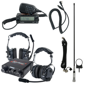 NavAtlas NIROH2 2 Person Powersports Over the Head Headset Bundle 1 NNT10 Intercom, 2 NO300 Headsets