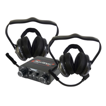 NavAtlas NIRBH4 4 Person Powersports Behind the Neck Headset Bundle 1 NNT10 Intercom, 4 NB200 Headsets Front and Rear