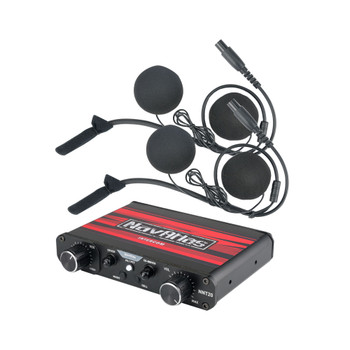 NavAtlas NIH210PK - Powersports NNT20 Intercom System with 2 pairs of NH100 In-Helmet Headphones