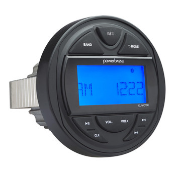 PowerBass MC-100 - Marine Grade Radio 25W X 4 With Built in Bluetooth & AM/FM Weather Band