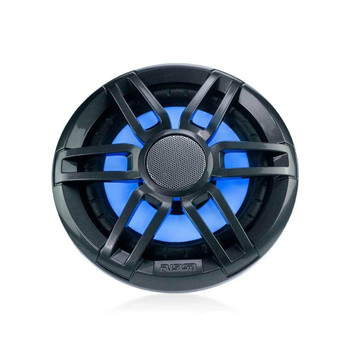 "Fusion XS-FL65SPGW XS Series 6.5"" Spk, RGB LED, Sports Grey & White Grille, 200W Peak, 50W RMS"