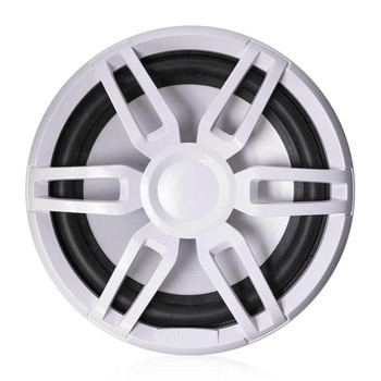 "Fusion XS-SL10SPGW 10"" Subwoofer, RGB LED, Sports Grey and White Grille, 600W Peak, 120W RMS"