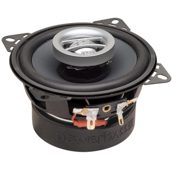 """PowerBass L2-402 - 4"""" Coaxial Speakers 40Wrms / 120Wmax (2-Ohm) - Pair"""