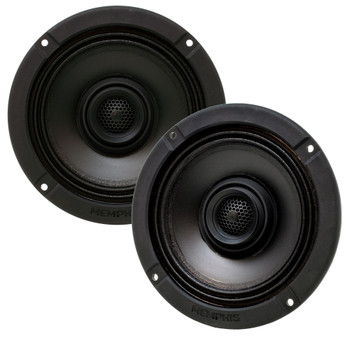 "Memphis Audio MXA62HD 6.5"" Direct Fit Upgrade Speakers compatible with Harley Davidson 2014+ Street Glide and 2015+ Road Glide"