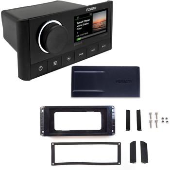 Fusion MS-RA670 Marine Radio System with MS-RA670RFK Retrofit Kit to replace Fusion 755,750,650 Series Radio