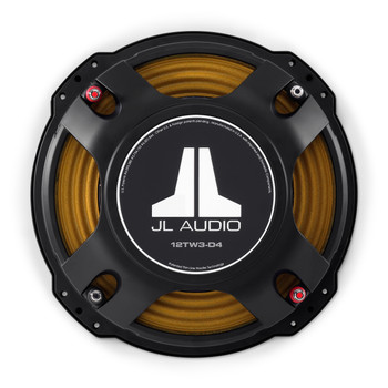 JL Audio Refurbished 12TW3-D4: 12-inch (300 mm) Subwoofer Driver Dual 4 Ohm