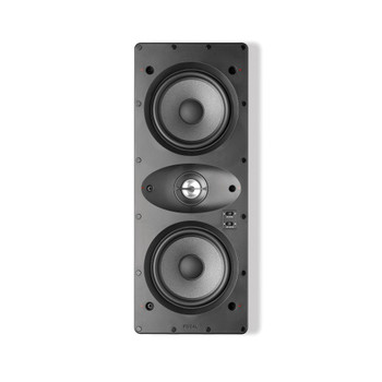 Focal F100IWLCR5 In-wall 2-way D'appolito Loudspeakers