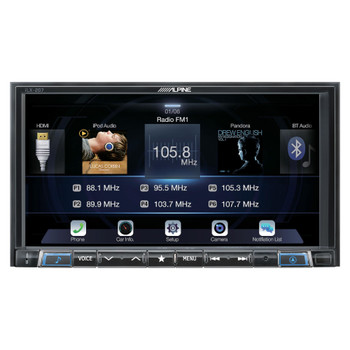 Alpine iLX-207 Mech-less compatible with Apple Car Play Android Auto Audio/Video system - Used Very Good
