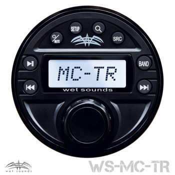 Wet Sounds MC-TR Transom Remote for WS-MC1 Media Center - Used Acceptable