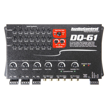 AudioControl DQ-61 6 Channel Line Out Converter with Signal Delay and EQ - Used Good