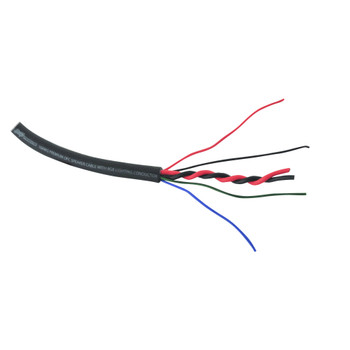 Stinger SEASRGB120 120 Feet Of 6-Conductor wire. Two 16-Gauge Speaker Wires and 20-Gauge RGB LED Wiring - Open Box