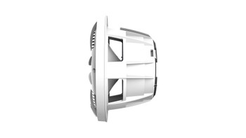 Wet Sounds REVO 8-SWW White Closed SW Grille 8 Inch Marine LED Coaxial Speakers (pair) - Used Acceptable