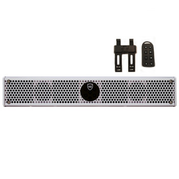 Wet Sounds Stealth 6 Ultra HD White All-in-one Amplified Soundbar with Remote - Used Acceptable