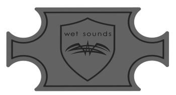 Wet Sounds SHIVR-55 Cooler GatorStep Top Skin Kit - Gray Over Black - Open Box
