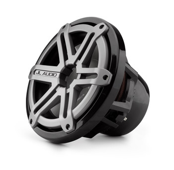 JL Audio M10IB5-SG-TB:10-inch (250 mm) Marine Subwoofer Driver Titanium Sport Grilles - Open Box