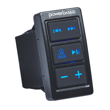 PowerBass XL-BTRS - Rocker Switch Bluetooth Receiver with AUX in and out