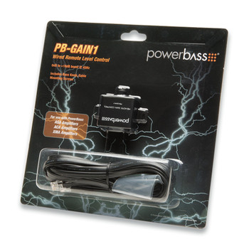 PowerBass PB-GAIN1 - Remote Level Controller for XMA, XL, ACS and ASA3