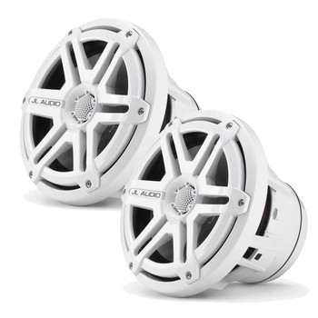 JL Audio M880-CCX-SG-WH:8.8-inch (224 mm) Cockpit Coaxial System White Sport Grilles - Open Box