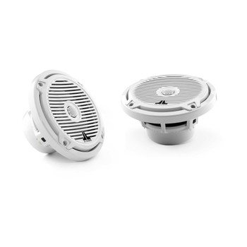 JL Audio MX650-CCX-CG-WH:6.5-inch (165 mm) Cockpit Coaxial System White Classic Grilles - Open Box