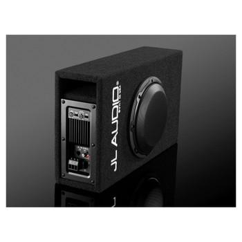 JL Audio ACP108LG-W3v3 Amplified MicroSub+ with single 8W3v3 (slot-ported)- Used Open Box