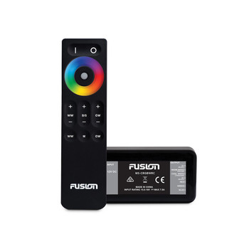 Fusion Entertainment CRGBW Lighting Control Module With Wireless Remote Control