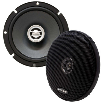 """PowerBass OE-652 - 6.5"""" Coaxial Speakers 2-Ohm - Pair"""