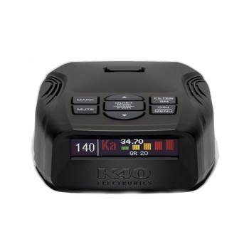 K40 Platinum100 LNA Radar/Laser Detection w/GPS Tech, OLED Display