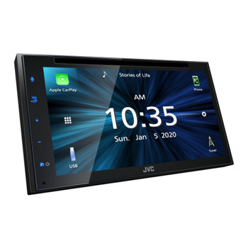 """JVC KW-V66BT Multimedia Receiver featuring 6.8"""" Capacitive Touch Monitor / Apple CarPlay / Android Auto / USB Mirroring for Android Phones / Bluetooth® / 13-Band EQ"""