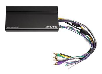 "Alpine ILX-W650 with Alpine KTA-200M Mono and KTA-450 4-Channel Amps with S-SB12V 12"" Loaded Enclosure"