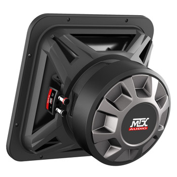 "MTX Audio S6510-44 S65-Series Square 10"" 500W RMS Dual 4-Ohm Subwoofer"