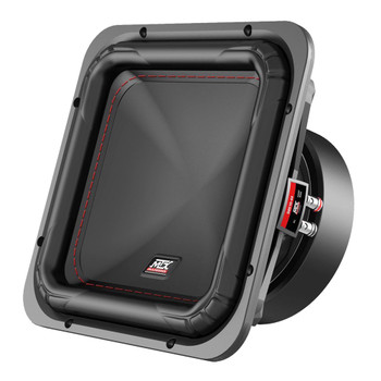 """MTX Audio S6510-44 S65-Series Square 10"""" 500W RMS Dual 4-Ohm Subwoofer"""