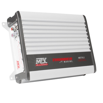 MTX Audio WET75.2 Thunder Marine 100W x 2 @ 2Ω Class A/B Marine Grade Amplifier