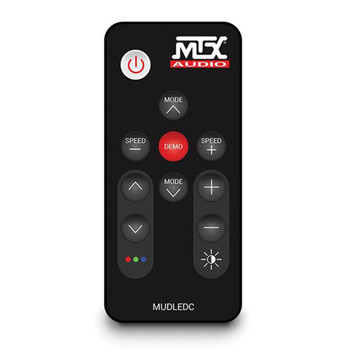 MTX Audio MUDLEDC MUD65PL LED Remote Control For Marine & Powersports