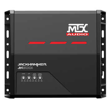 MTX Audio JH5001 Jackhammer Series 500W x 1 @ 1-Ohm Class D Mono Block Amplifier