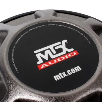 """MTX Audio 5515-44 55-Series 15"""" 400W RMS Dual 4-Ohm Subwoofer"""