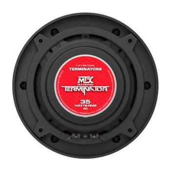 "MTX Audio TERMINATOR5 Terminator Series 5.25"", 2-Way, 35W RMS 4-Ohm Coaxial Speaker Pair"