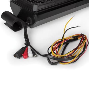 "MTX Audio MUDSYS31 4-Speaker 140 Watt Amplified Overhead Sound Bar With Bluetooth/AM/FM/Aux Source - Fits widths 32.25"" to 38.75"""